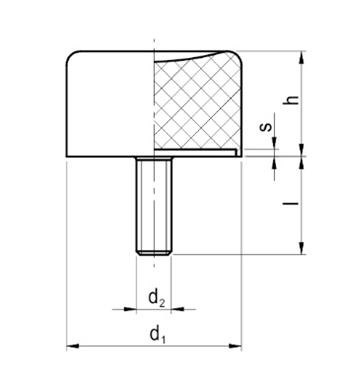 Wibroizolator Przyssawkowy Typu PR-D