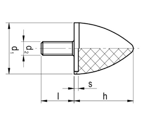 Wibroizolator Parabliczny Typu PA-D