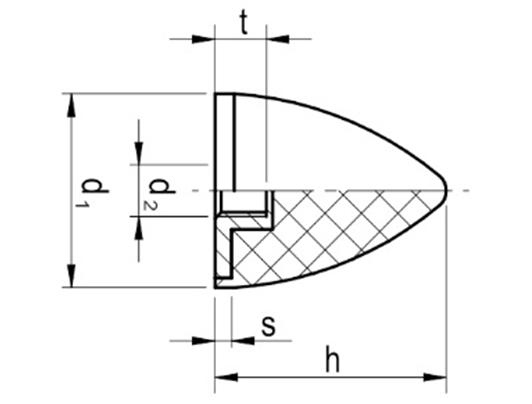 Wibroizolator Parabliczny Typu PA-E
