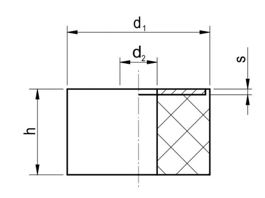 Podkładki Dystansowe zPłytką Metalową Typu PDB